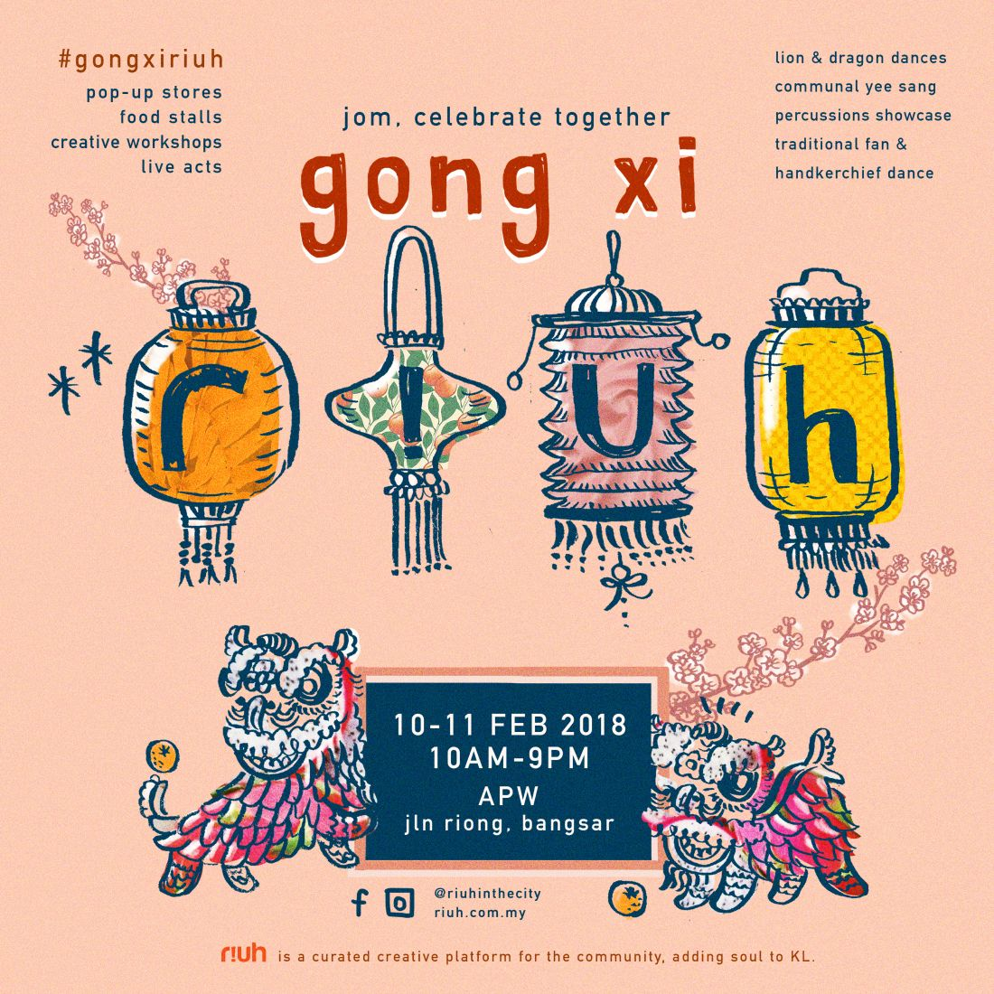 RIUH EVENT | Gong Xi RIUH